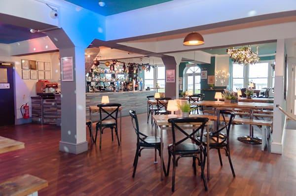 New Madeira Hotel Brighton indoor bar area 4