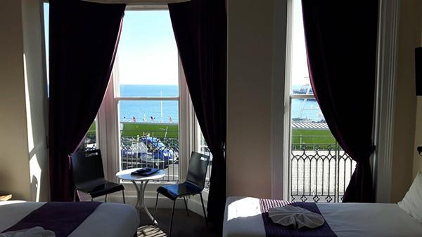 New Madeira Hotel Brighton sea view room