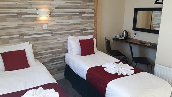 New Madeira Hotel Brighton twin room