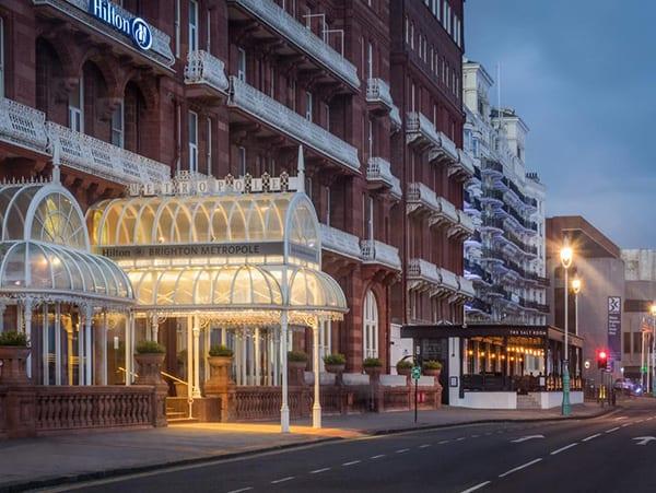 The Hilton Metropole Brighton Exterior
