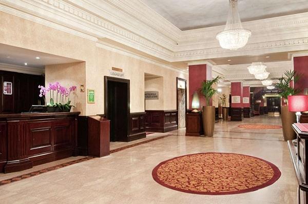 The Hilton Metropole Brighton Lobby 2