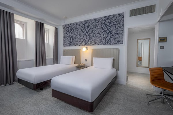 The Hilton Metropole Brighton Twin Room