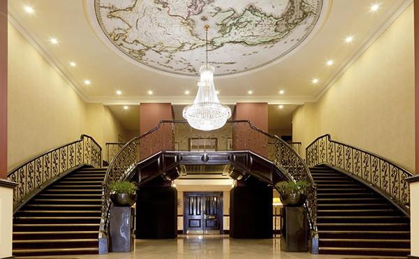 The Hilton Metropole Brighton lobby