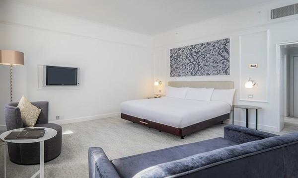 The Hilton Metropole Brighton room c