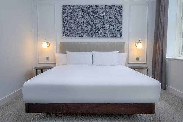 The Hilton Metropole Brighton room