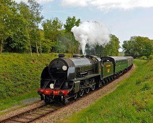 Bluebell Steam Railway & Vineyard Bus Tour