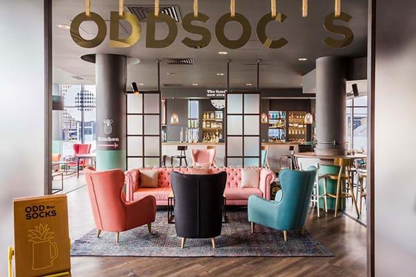Jurys Inn Brighton Oddsocks Bar Restaurant