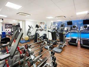Jurys Inn Brighton Waterfront Gym
