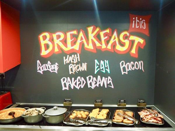 ibis Brighton City Centre Station Hotel Restaurant Breakfast